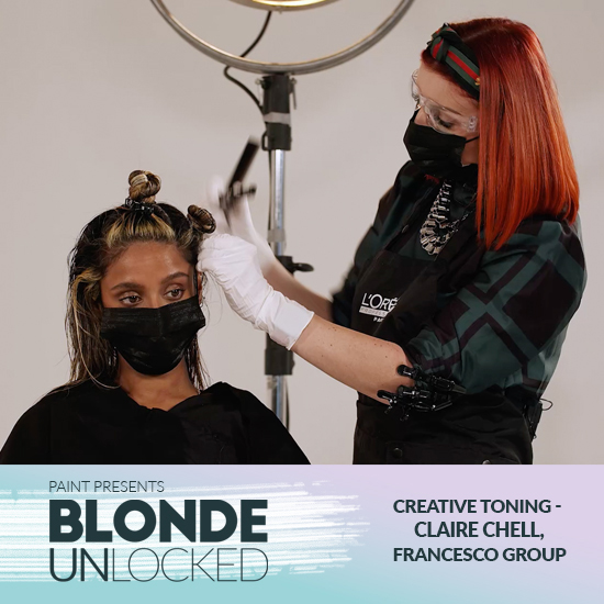 Blonde Unlocked: Masterclass – Creative Toning with Claire Chell, Francesco Group