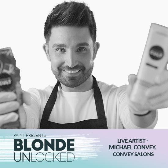 Blonde Unlocked: Live Artist – Michael Convey, Convey Salons