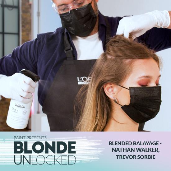 Blonde Unlocked: Masterclass – Blended Balayage with Nathan Walker, Trevor Sorbie