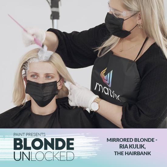 Blonde Unlocked: Masterclass – Mirrored Blonde with Ria Kulik, The HairBank