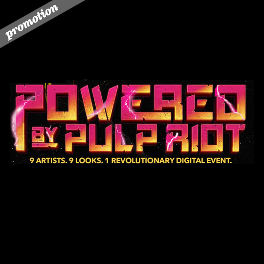 They've got the power! Pulp Riot artists get creative on set