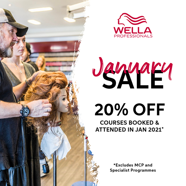 Wella Professionals January Sale courses