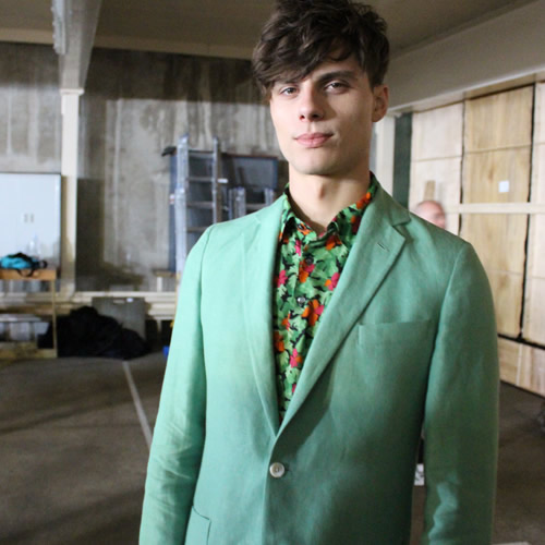 LIVE from London Collections: Men – Richard James S/S16