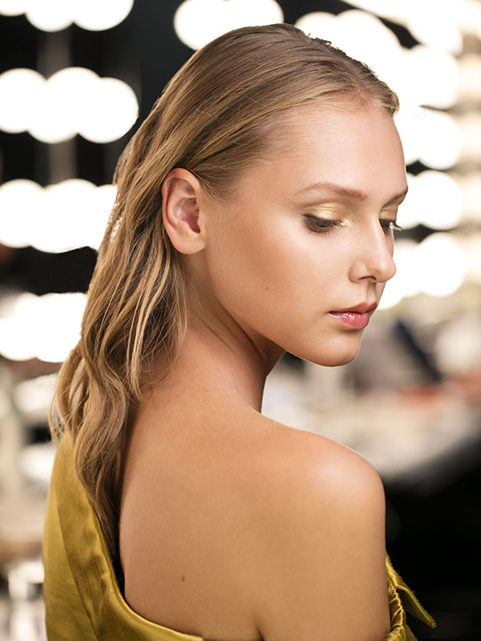 Backstage at Hellessy NYFW
