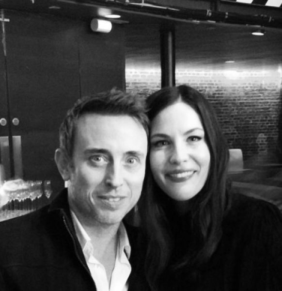with Liv Tyler, actress