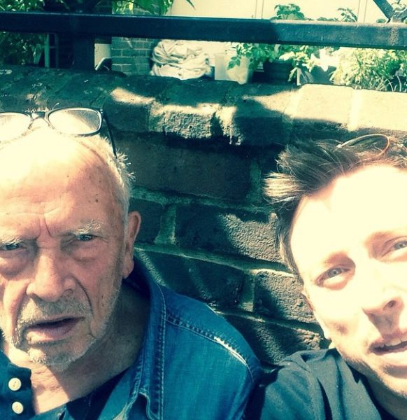 with David Bailey, photographer