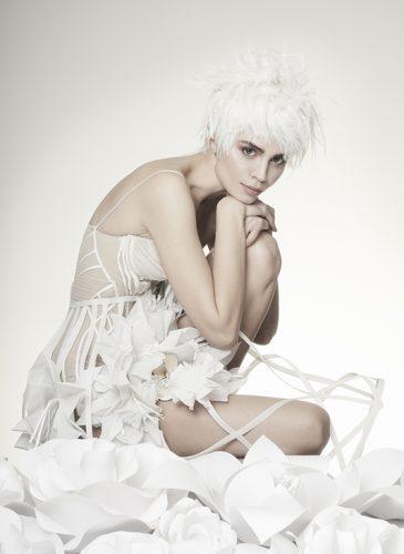 Vanilla Blooms by Sharon Blain