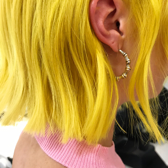 Bright hair – WITHOUT the bleach