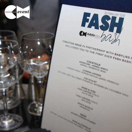 Session stars make a splash at inaugural Fash Bash