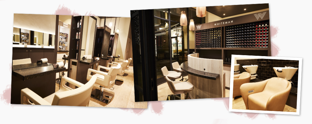 Whiteman Soho salon interior