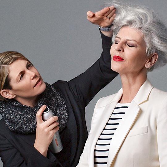 Lisa Whiteman – Transitioning to grey