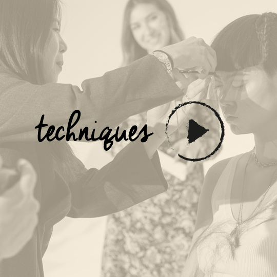 WATCH Rebecca Chang create a faux winged fringe for The Coterie: In Session