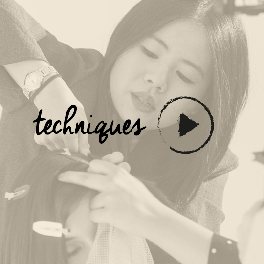 WATCH Rebecca Chang create a disconnected bob for The Coterie: In Session