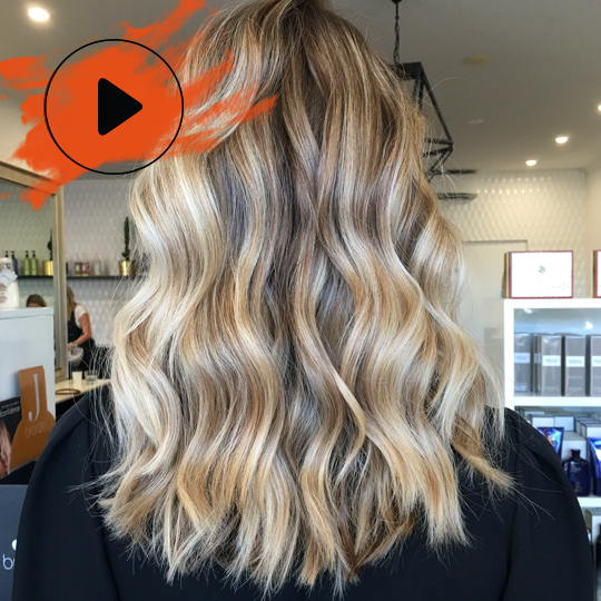 WATCH Bixie Colour create a lived-in blonde – the Aussie way