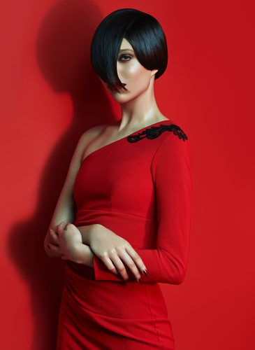 'Rouge Seduction' by Baroque Hair