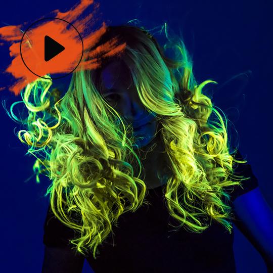 WATCH 'Neonhair' by Carol Bruguera in motion
