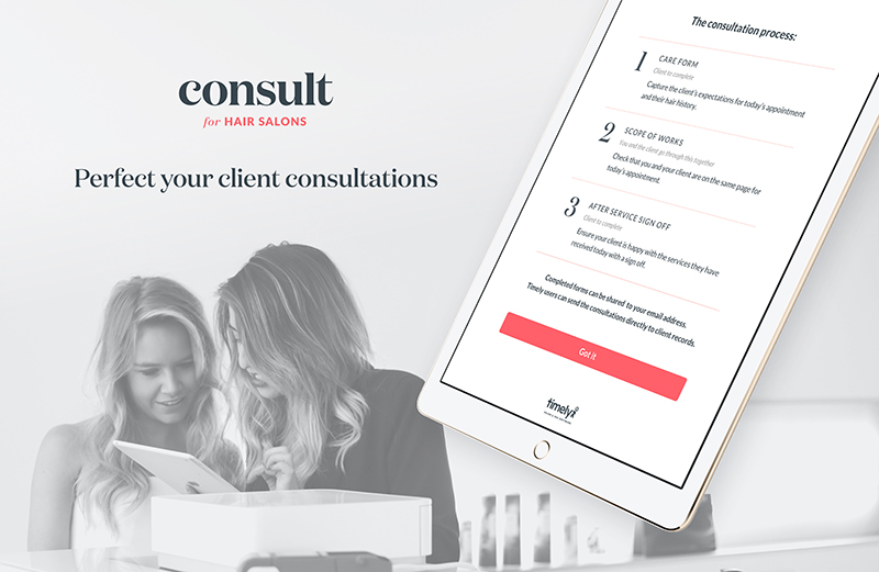 Remove the risk – introduce a client consultation form – Creative
