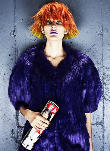 Colour Riot By Beauty Underground Creative Head Magazine
