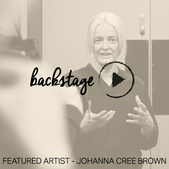 Featured Artist LIVE – starring Johanna Cree Brown