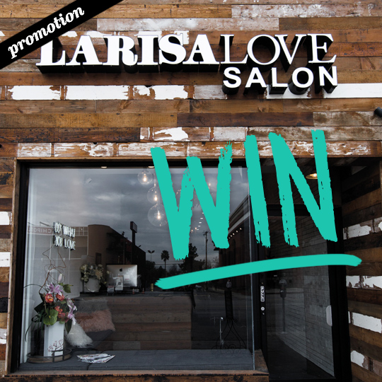 Want to meet Larisa Love in sunny Los Angeles? We have just the ticket…