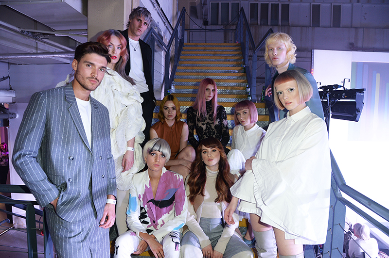 Who made it through from the L'Oréal Colour Trophy 2019 London Regional Semi Final?