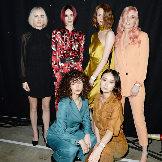 Who made it through from the L'Oréal Colour Trophy 2019 North Eastern Regional Semi Final?