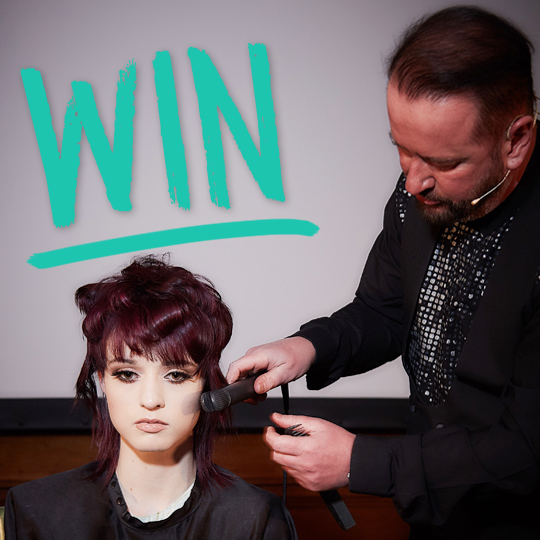 Win a place on the Revlon Professional Futurian course with Mark Leeson, worth £300