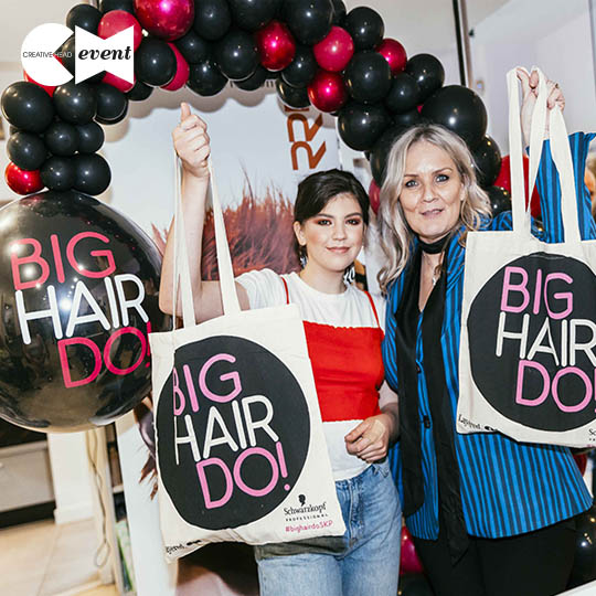 Fizz, fun and fabulous hair! #BigHairDo 2019 was a blast…
