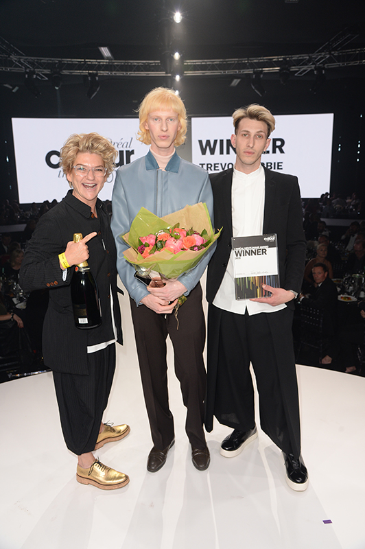Men's Image Award Winner Trevor Sorbie Covent Garden