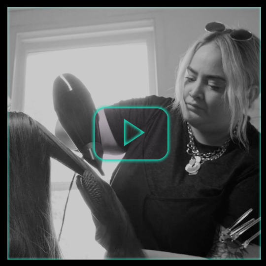 CHM X BaByliss PRO – on set with Sarah Black