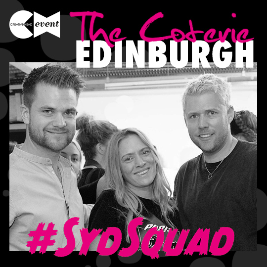 To Edinburgh, with the #SydSquad!