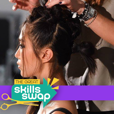 Get the look: nineties raver knots by Samantha Hillerby