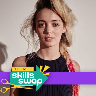 Get the look: braid with colour by Syd Hayes