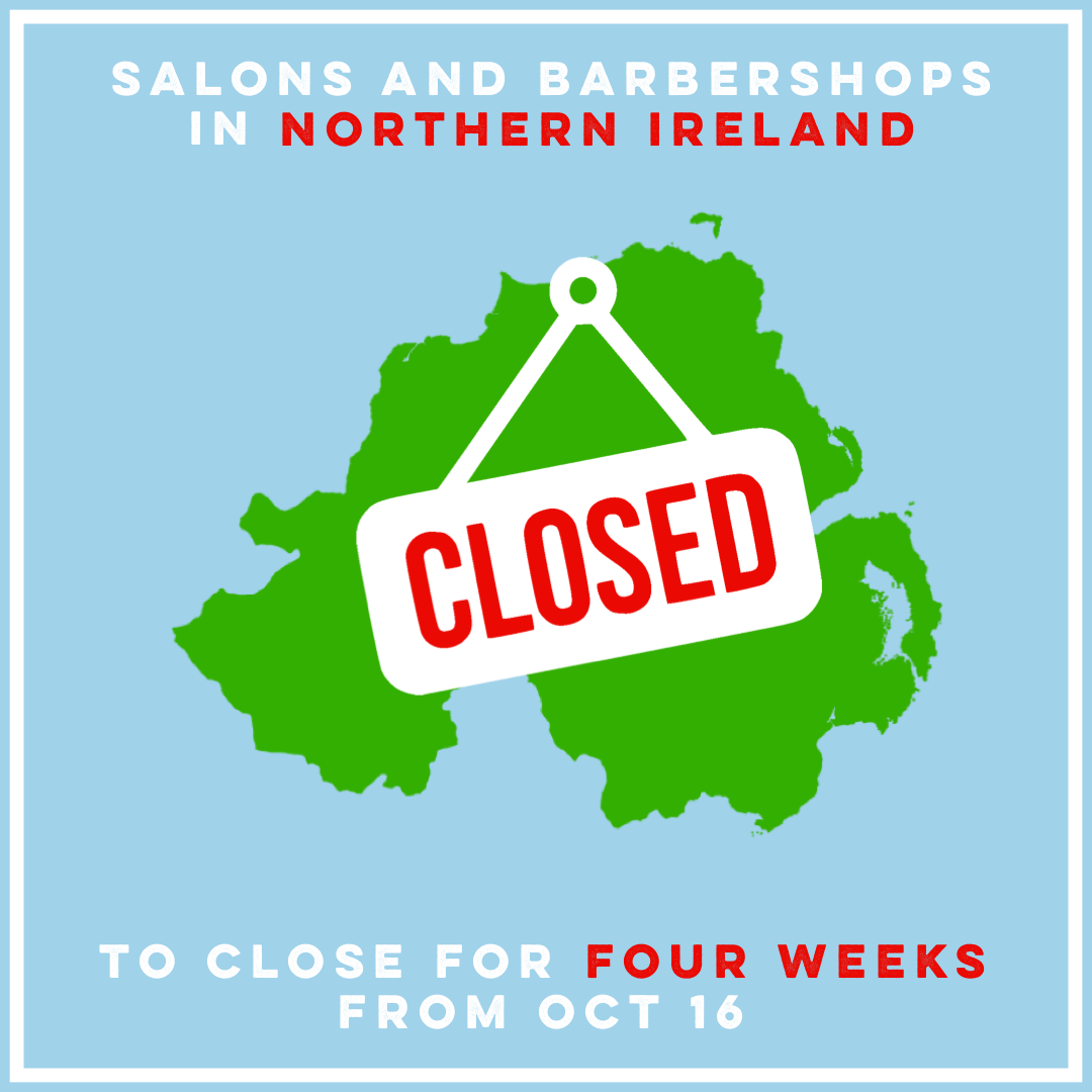 Northern Ireland salons to close for four weeks