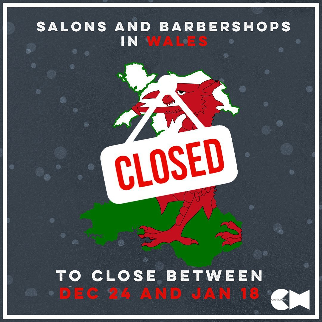 Welsh salons to close at end of trading on 24 December