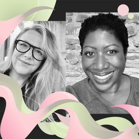 The Root of It podcast – Ateh Jewel and host Amanda Nottage