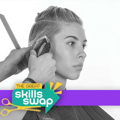 Andis FLUID Vol 1 collection: mid-fade undercut