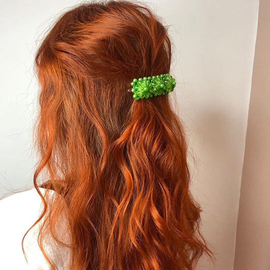Katie Ottolangui redhead model