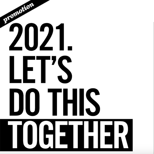 2021. Let's do this together