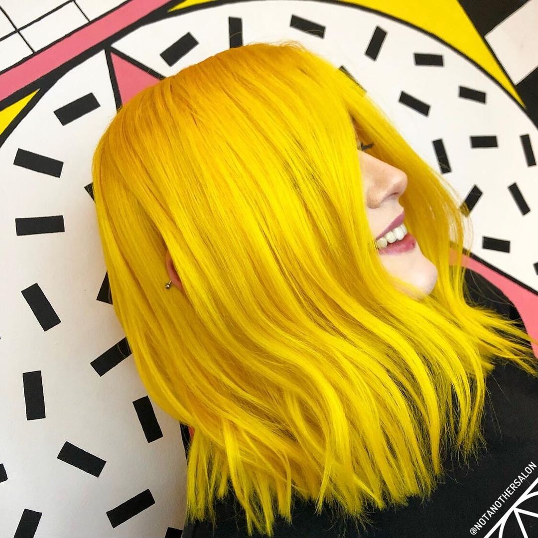 Not Another Salon yellow hair