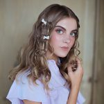 Knotted braid with bow accessories from 'Trenesis Magical' by Carol Bruguera
