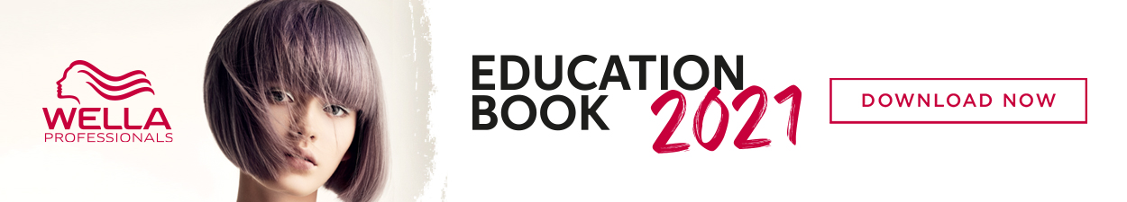 Wella Professionals Education Book banner