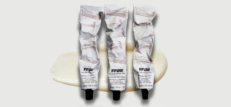 Ffør hair colour tubes
