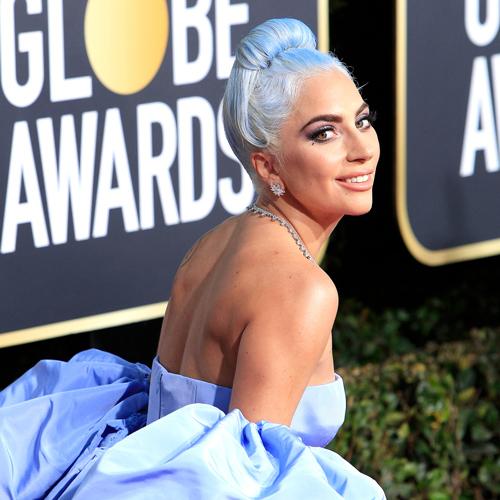 Lady Gaga at Golden Globe Awards