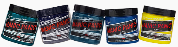 Manic Panic colour tubs
