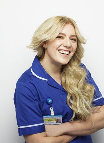 Gemma Adee NHS shoot