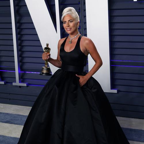 Lady Gaga at Vanity Fair awards