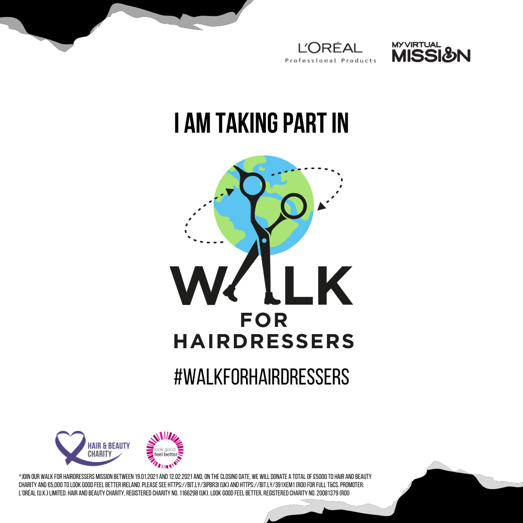Will you Walk For Hairdressers?