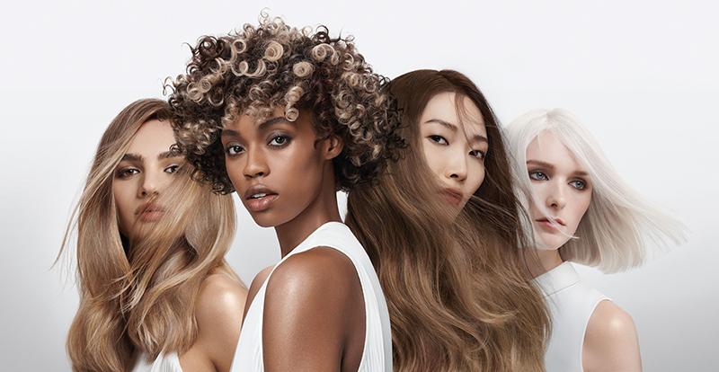 Goldwell Light Dimensions hair colour models