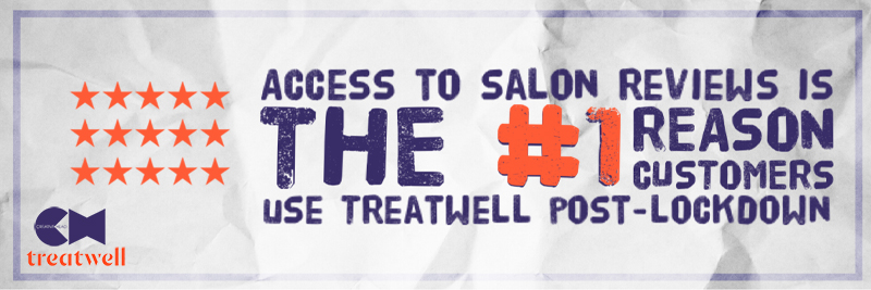 Reviews are the #1 reason for consumers using Treatwell stat